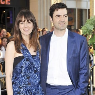 Rosemarie DeWitt, Ron Livingston in The World Premiere of The Odd Life of Timothy Green - Arrivals