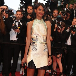 Liya Kebede in Cosmopolis Premiere - During The 65th Annual Cannes Film Festival