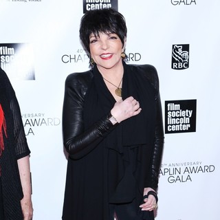 Liza Minnelli in 40th Anniversary Chaplin Award Gala Honoring Barbra Streisand