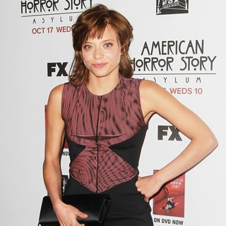 Lizzie Brochere in Premiere Screening of FX's American Horror Story: Asylum