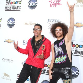 LMFAO in 2012 Billboard Music Awards - Arrivals