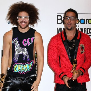LMFAO in 2012 Billboard Music Award - Press Room