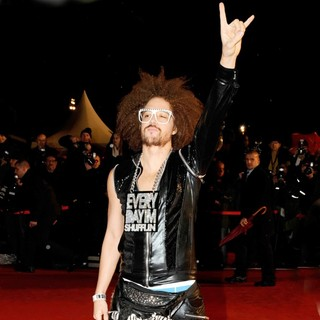 Redfoo, LMFAO in NRJ Music Awards 2012 - Arrivals