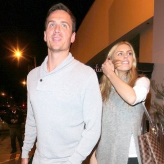 Ryan Lochte, Kayla Rae Reid in Ryan Lochte Leaves Catch Restaurant with Kayla Rae Reid