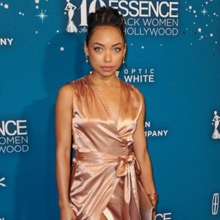 Logan Browning in Essence 10th Annual Black Women in Hollywood Awards Gala - Arrivals