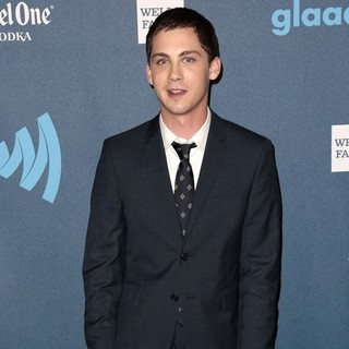 Logan Lerman in 24th Annual GLAAD Media Awards - Arrivals