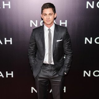 Logan Lerman in Noah New York Premiere