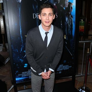 Logan Lerman in Percy Jackson: Sea of Monsters Premiere