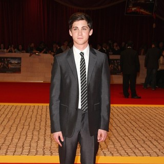 Logan Lerman in The Three Musketeers Film Premiere - Arrivals