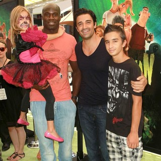 Jillian Marini, David Loiseau, Gilles Marini, George Marini in World Premiere of ParaNorman