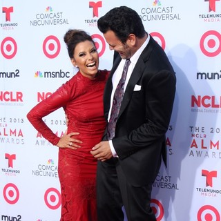 Eva Longoria, Ricardo Chavira in The 2013 NCLR ALMA Awards