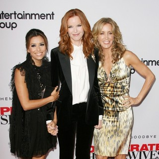 Eva Longoria, Marcia Cross, Felicity Huffman in Desperate Housewives Final Season Kick-Off Party