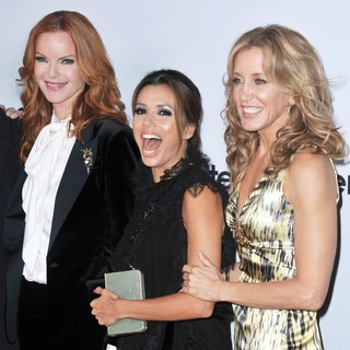 Marcia Cross, Eva Longoria, Felicity Huffman in Desperate Housewives Final Season Kick-Off Party