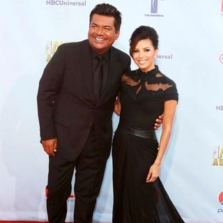 George Lopez, Eva Longoria in 2012 NCLR ALMA Awards - Arrivals