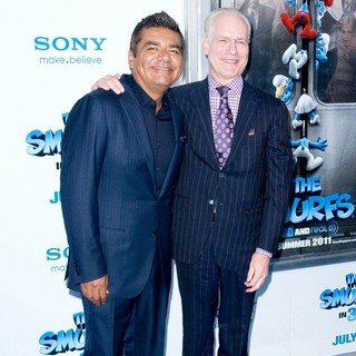 George Lopez, Tim Gunn in The Smurfs World Premiere - Arrivals