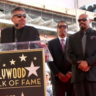 George Lopez, Cypress Hill in Cypress Hill Are Honoured with A Star Ceremony on The Hollywood Walk of Fame