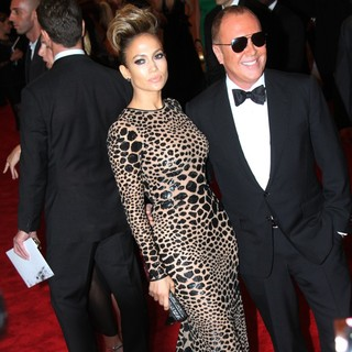 Jennifer Lopez, Michael Kors in PUNK: Chaos to Couture Costume Institute Gala