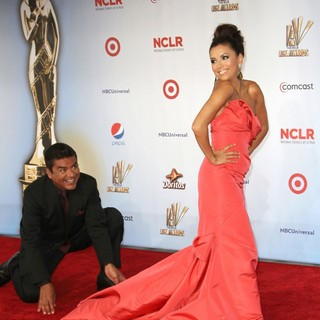 George Lopez, Eva Longoria in 2011 NCLR ALMA Awards - Arrivals