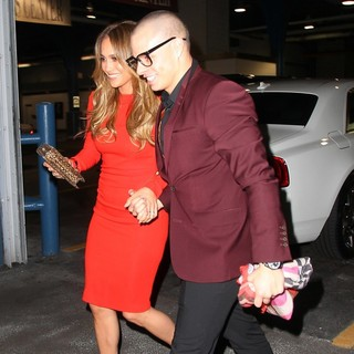Jennifer Lopez, Casper Smart in Jennifer Lopez and Casper Smart Boards A Luxury Yacht to Celebrate Her 43rd Birthday