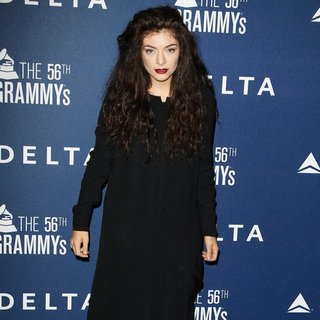 Lorde in Delta Airlines Pre-Grammy Party