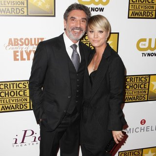Chuck Lorre, Kaley Cuoco in 4th Annual Critics' Choice Television Awards