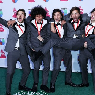 Los Mesoneros in 13th Annual Latin Grammy Awards - Arrivals