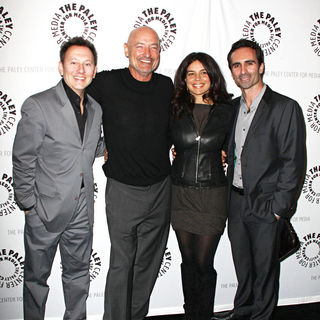 Terry O'Quinn, Michael Emerson, Zuleikha Robinson, Nestor Carbonell in 27th Annual PaleyFest presents the television show 'Lost'