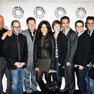 Terry O'Quinn, Michael Emerson, Zuleikha Robinson, Damon Lindelof, Elizabeth Sarnoff, Nestor Carbonell in 27th Annual PaleyFest presents the television show 'Lost'