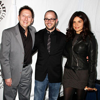 Michael Emerson, Damon Lindelof, Zuleikha Robinson in 27th Annual PaleyFest presents the television show 'Lost'
