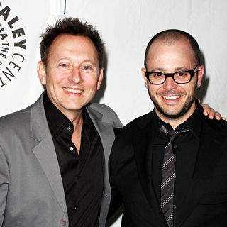 Michael Emerson, Damon Lindelof in 27th Annual PaleyFest presents the television show 'Lost'