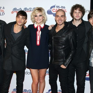 Pixie Lott, The Wanted in 2011 Capital FM's Jingle Bell Ball - Day 1