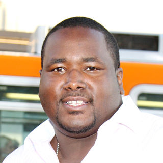 Quinton Aaron in The World Premiere of 'Lottery Ticket'