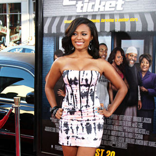 Teairra Mari in The World Premiere of 'Lottery Ticket'