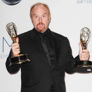 Louis C.K. in 64th Annual Primetime Emmy Awards - Press Room