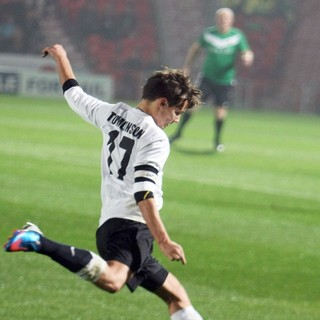 Louis Tomlinson, One Direction in Louis Tomlinson Taking Part in A Charity Football Match
