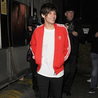 One Direction Leaving Cirque le Soir Nightclub