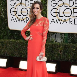 Louise Roe in 71st Annual Golden Globe Awards - Arrivals