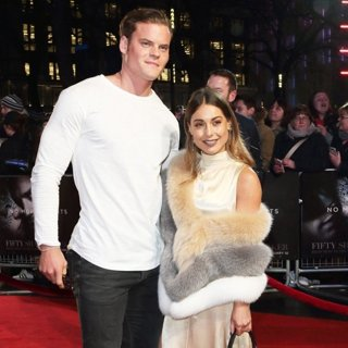 Louise Thompson in The UK Premiere of Fifty Shades Darker - Arrivals