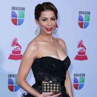 Lourdes Stephen in 13th Annual Latin Grammy Awards - Arrivals