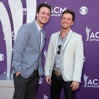 Love and Theft in 48th Annual ACM Awards - Arrivals