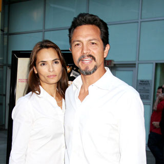 "Talisa Soto, Benjamin Bratt in The ""Love Ranch"" LA Premiere"