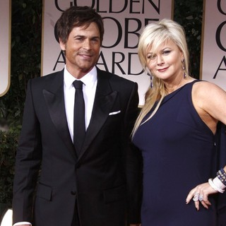 Rob Lowe, Sheryl Berkoff in The 69th Annual Golden Globe Awards - Arrivals