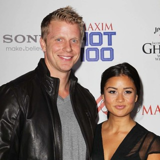 Sean Lowe, Catherine Giudici in The Maxim Hot 100 Party - Arrivals