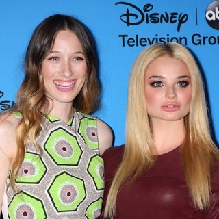 Sophie Lowe in ABC TCA Summer 2013 Party - lowe-rigby-abc-tca-summer-2013-party-01