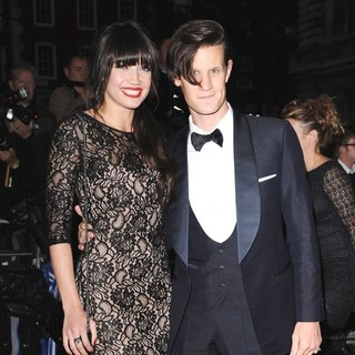 Daisy Lowe, Matt Smith in GQ Men of The Year Awards 2011 - Arrivals