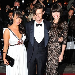 Matt Smith, Daisy Lowe in GQ Men of The Year Awards 2011 - Arrivals