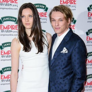 Matilda Lowther, Jamie Campbell Bower in The Jameson Empire Awards 2014 - Arrivals
