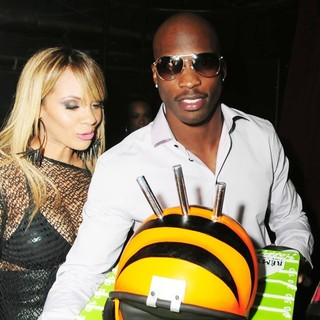 Evelyn Lozada, Chad Ochocinco in Chad Ochocinco's Birthday Party