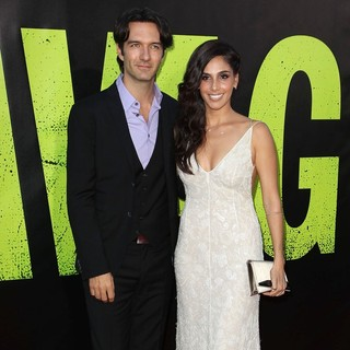Leonardo de Lozanne, Sandra Echeverria in The Premiere of Savages