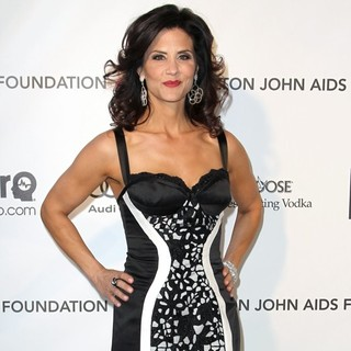 Lu Parker in 21st Annual Elton John AIDS Foundation's Oscar Viewing Party